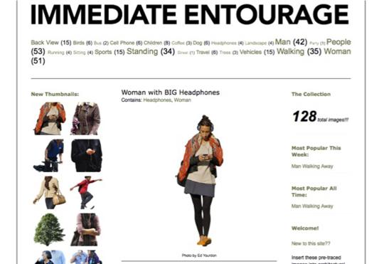 Figure 14. Immediate Entourage (http://www.immediateentourage.com/, accessed February 11, 2011).