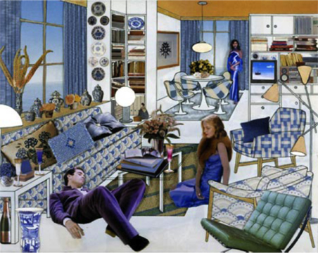 Figure 17. Laurie Simmons, The Instant Decorator (Blue Room with Ocean View/Cocktail Party) (2004) (http://www.lauriesimmons.net, accessed April 10, 2013).