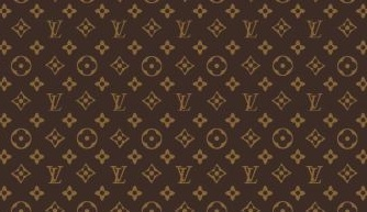 Figure 1. Left – Penn Intellectual Property Group's Annual Symposium Poster (2012); Right – Louis Vuitton's trademarked Toile Monogram.