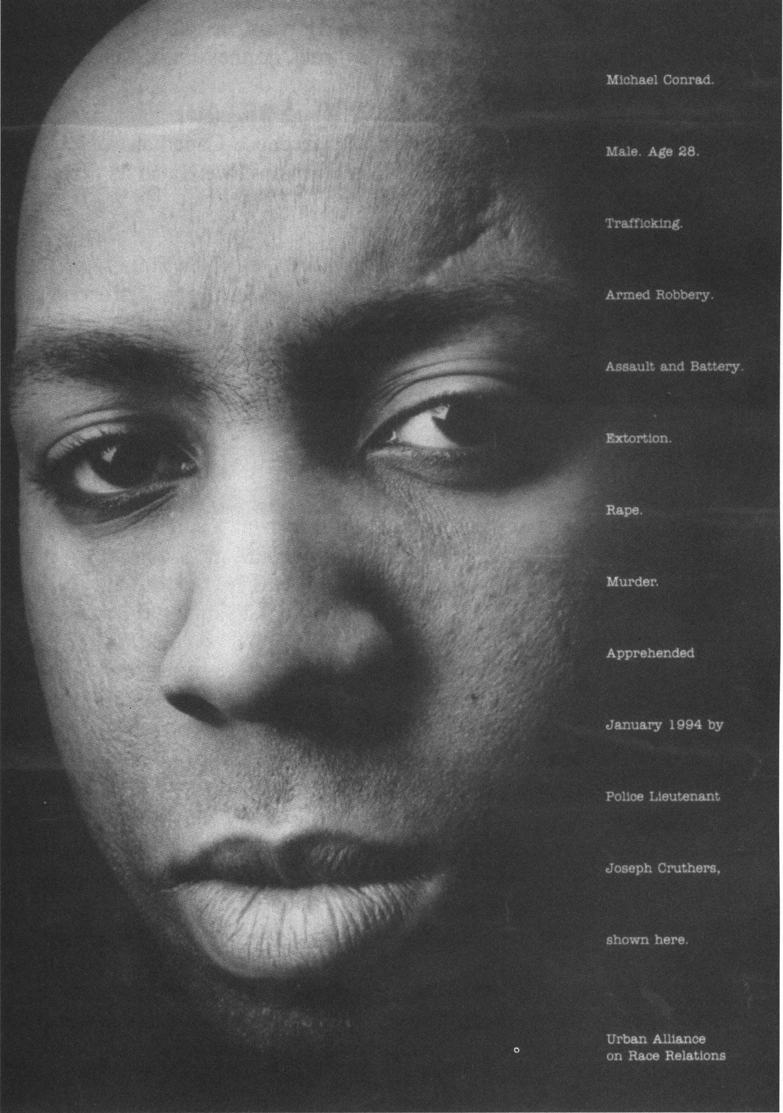 "Image: ""Policeman"" Ad, Urban Alliance on Race Relations."