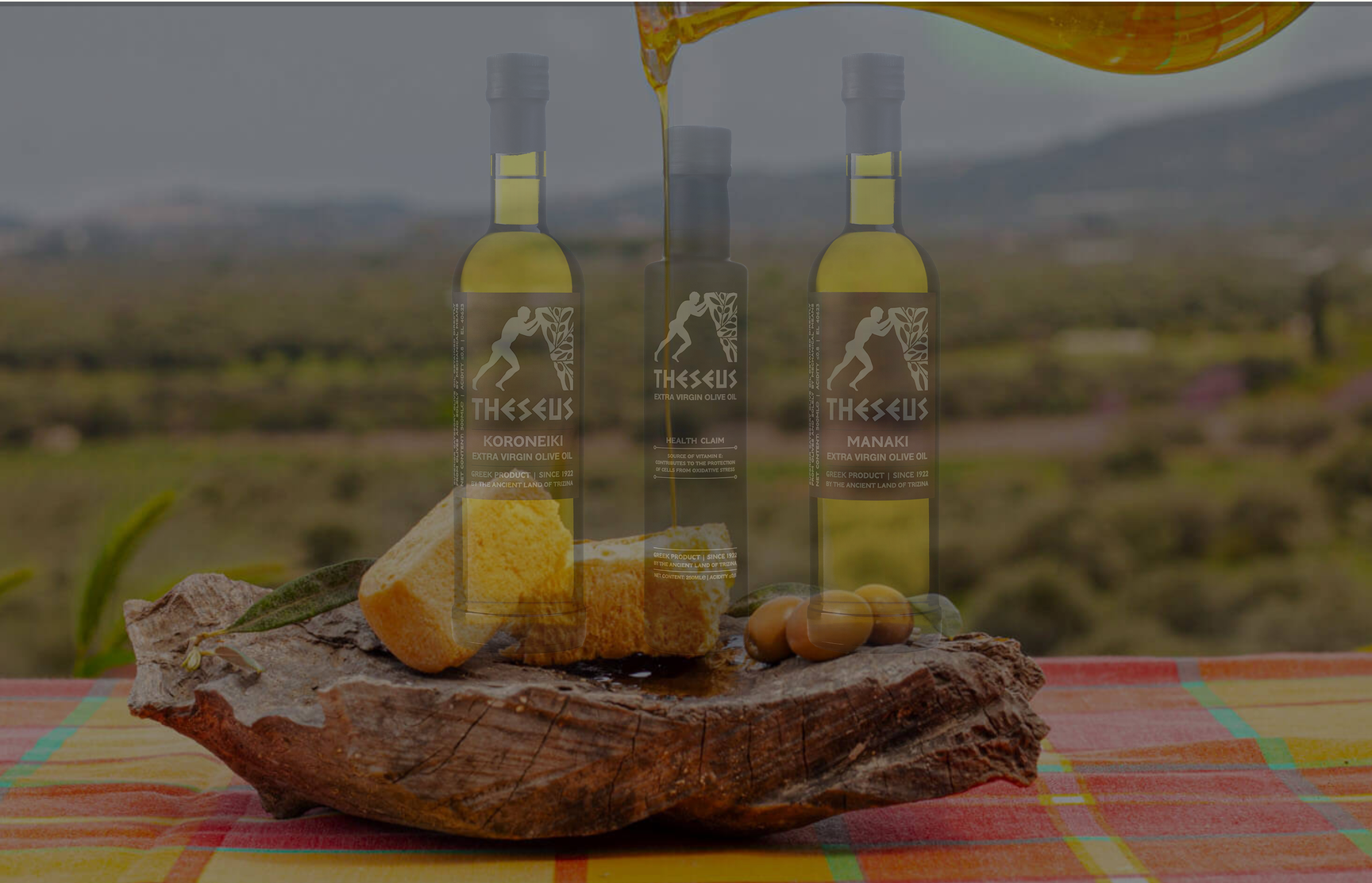 Screenshot of animation from the Theseus Extra Virgin Olive Oil website (https://theseusevoo.gr/)